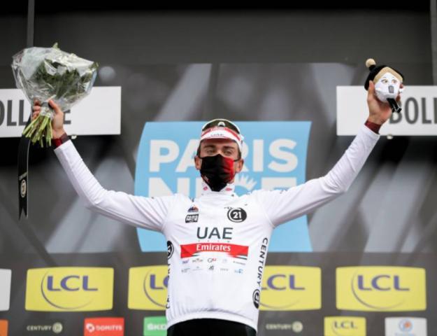 Брэндон Макналти сошёл с велогонки Париж-Ницца-2021 после падения