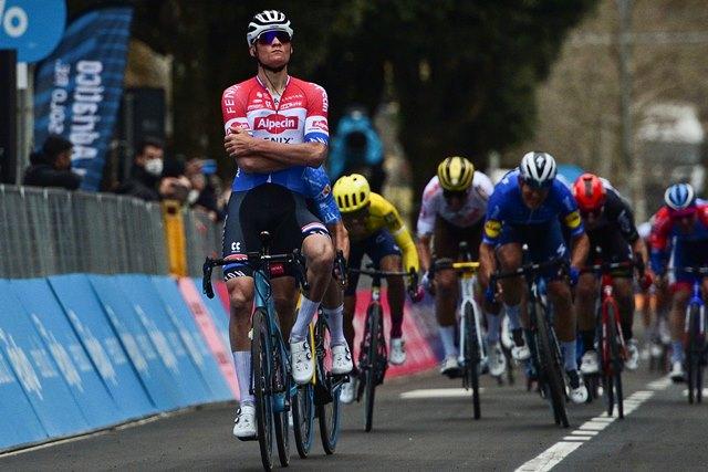 Матье ван дер Пул о своей форме и готовности защищать титул на Туре Фландрии-2021