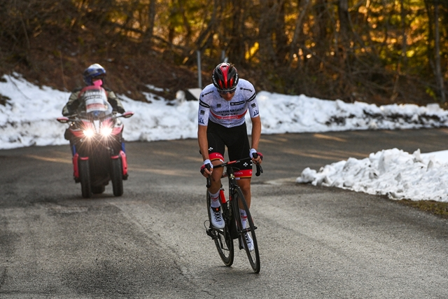 Тадей Погачар – победитель 4 этапа Тиррено-Адриатико-2021