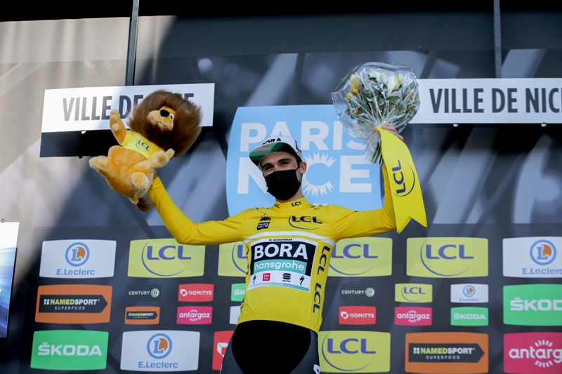 Максимилиан Шахман  - победитель велогонки Париж-Ницца-2021