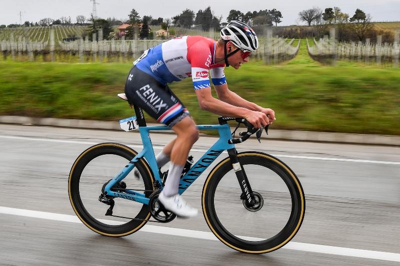 Матье ван дер Пул, Тадей Погачар, Ваут ван Арт о 5-м этапе Тиррено-Адриатико-2021