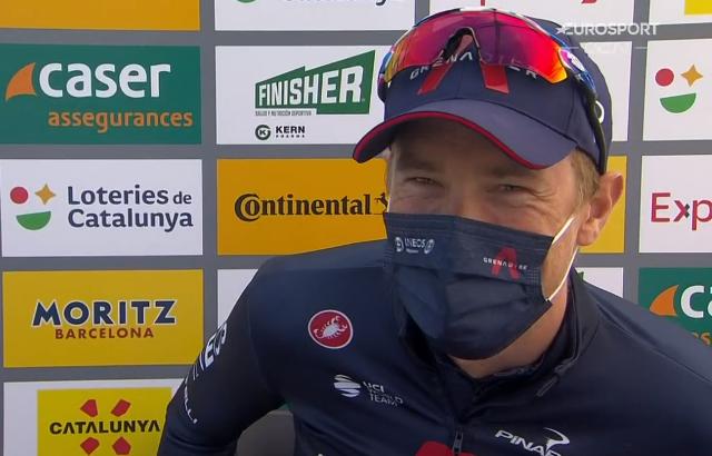 Роан Деннис - победитель 2 этапа Вуэльты Каталонии-2021