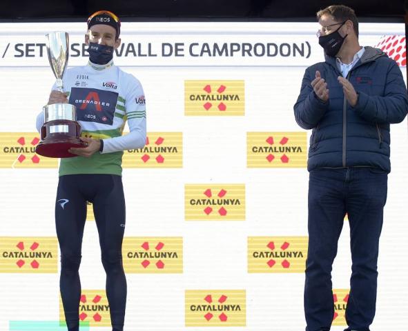 Адам Йейтс, Эстебан Чавес, Алехандро Вальверде о 3-м этапе Вуэльты Каталонии-2021