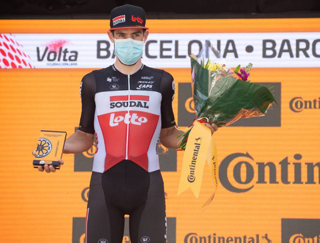 Томас Де Гендт – победитель 7 этапа Вуэльты Каталонии-2021