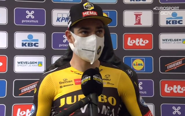 Ваут ван Арт – победитель Гент-Вевельгем-2021