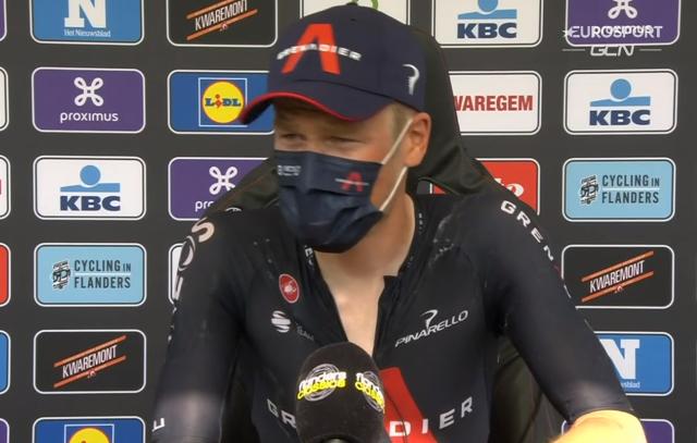 Дилан ван Баарле – победитель Dwars door Vlaanderen-2021