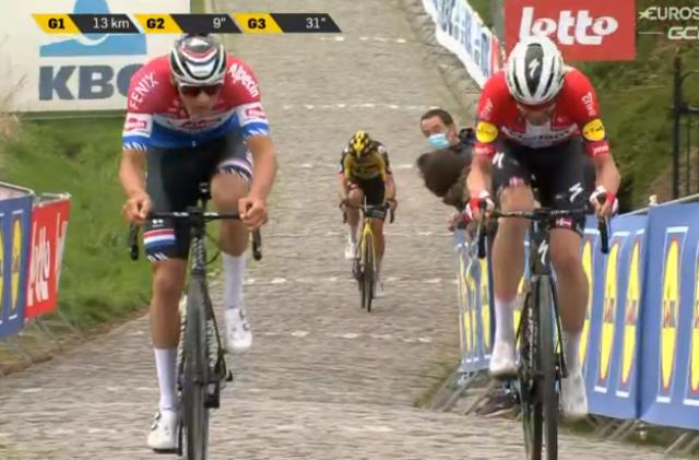 Ваут ван Арт: «Мне просто не хватило сил в финале Тура Фландрии-2021»