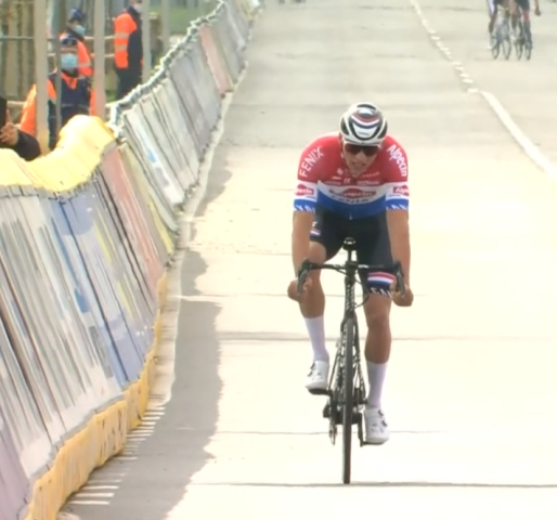 Матье ван дер Пул – призёр Тура Фландрии-2021