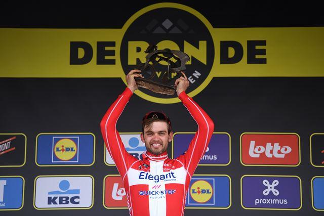 Каспер Асгрен – победитель Тура Фландрии-2021