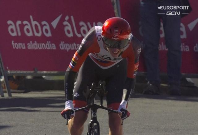 Примож Роглич – победитель 1 этапа Тура Страны Басков-2021