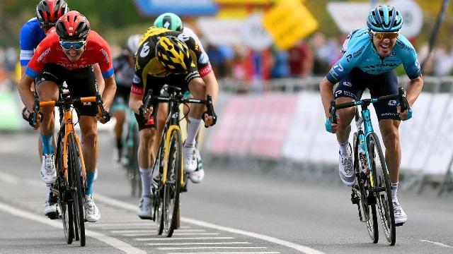 Йон Исагирре приносит команде вторую победу на этапе Тура Страны Басков-2021