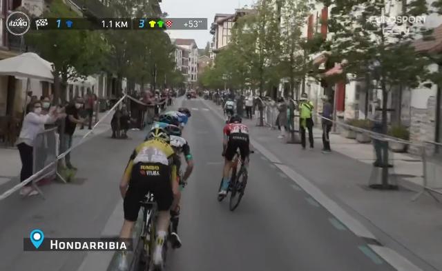 Брэндон Макналти – лидер общего зачёта Тура Страны Басков-2021 после 4 этапа