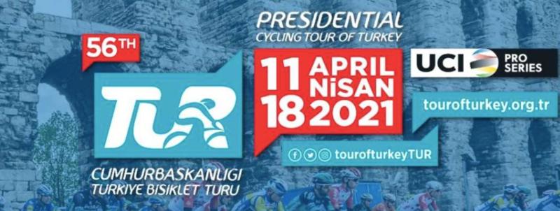 1-й этап Тура Турции-2021 отменён из-за снега