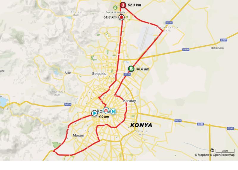 Организаторы Тура Турции-2021 проведут 1-й этап, изменив маршрут