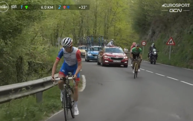 Давид Годю – победитель 6 этапа Тура Страны Басков-2021