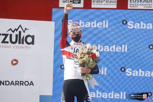 Тадей Погачар – призёр Тура Страны Басков-2021