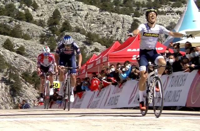 Хосе Мануэль Диас – победитель 5 этапа Тура Турции-2021