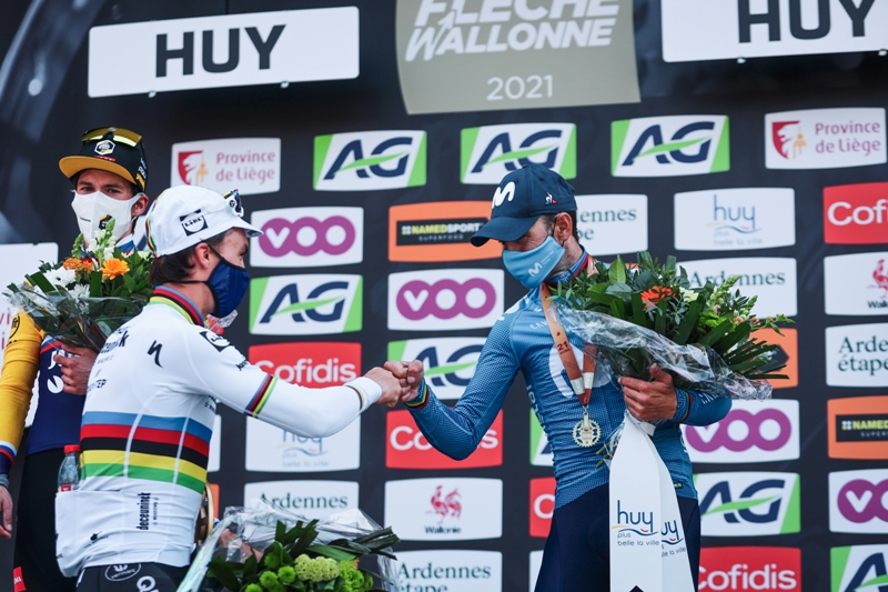Жулиан Алафилипп  -  трёхкратный победитель классики Флеш Валлонь