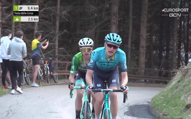 Пельо Бильбао – победитель 4 этапа Тура Альп-2021