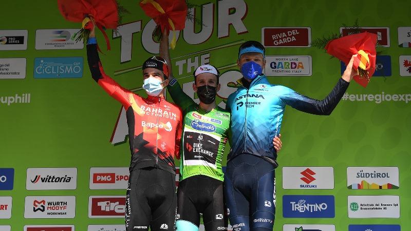 Александр Власов – третий в итоговой классификации «Тура Альп»-2021