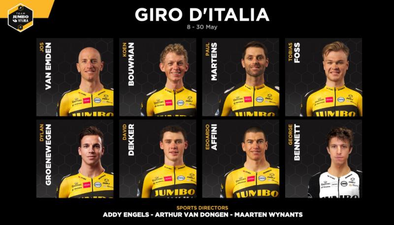 Велокоманда Jumbo-Visma добавила Дилана Груневегена в состав на Джиро д'Италия-2021