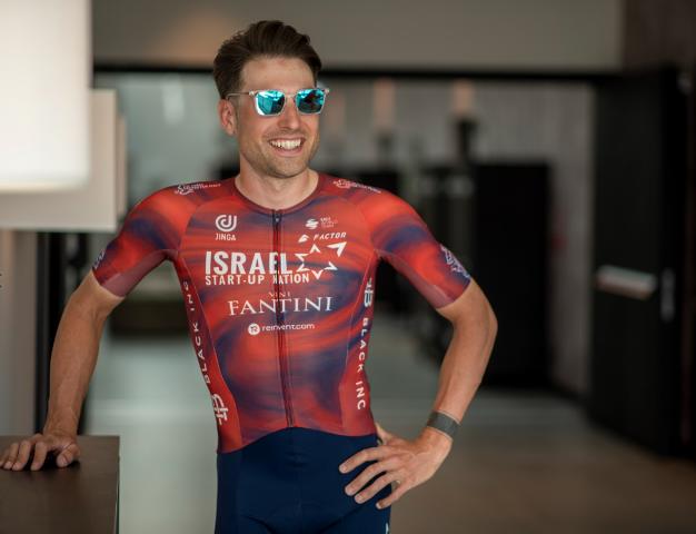 Велокоманда Israel Start-Up Nation представила форму на Джиро д'Италия-2021
