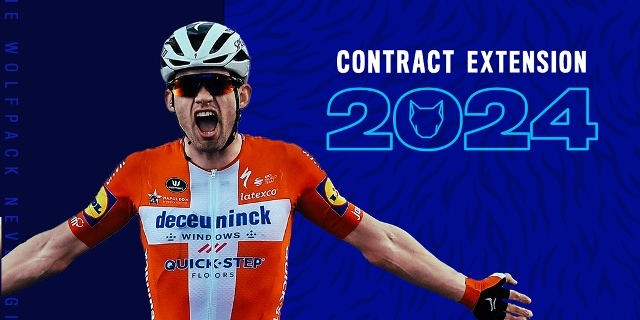 Каспер Асгрен продлил контракт с командой Deceuninck-Quick Step