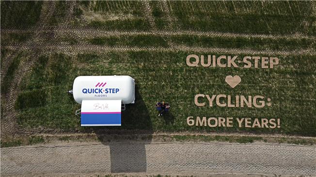 Велокоманда Патрика Лефевра продлила контракт с компанией Quick Step на 6 лет