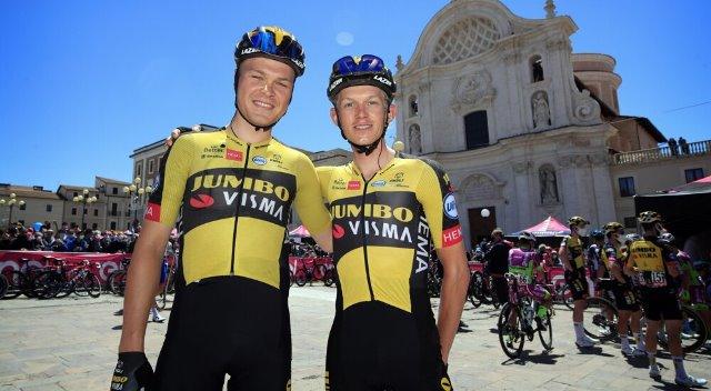 Команда Jumbo-Visma продлила контракты с Тобиасом Фоссом и Куном Бауманом