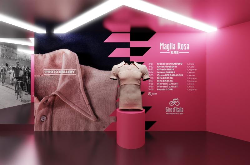 90 лет розовой майке Джиро д'Италия