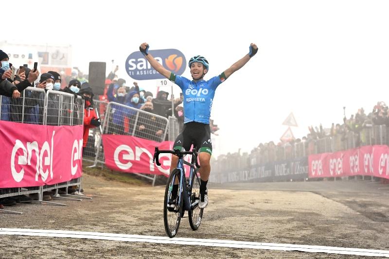 Лоренцо Фортунато – победитель 14 этапа Джиро д'Италия-2021