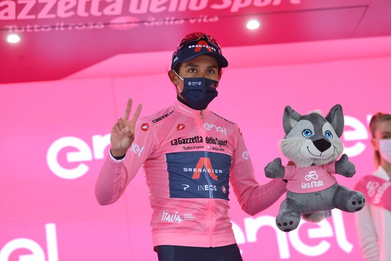 Эган Берналь об участии в Тур де Франс, боли в спине и планах на сезон 2021 года
