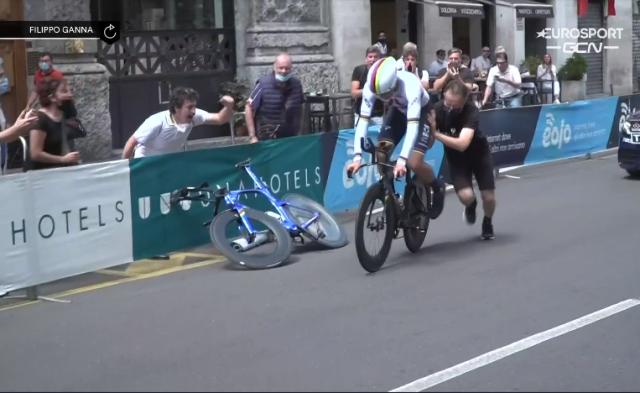 Филиппо Ганна – победитель 21 этапа Джиро д'Италия-2021