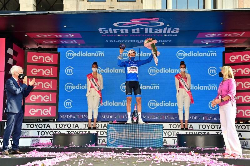 Жоффрей Бушар – победитель горной классификации Джиро д'Италия-2021