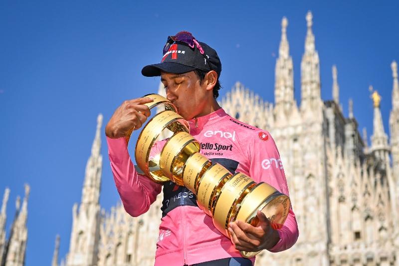 Эган Берналь – победитель Джиро д'Италия-2021