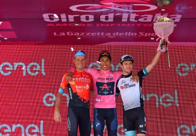 Дамиано Карузо и Саймон Йейтс – призёры Джиро д'Италия-2021