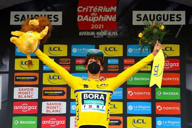 Лукас Пёстльбергер – победитель 2 этапа Критериума Дофине-2021