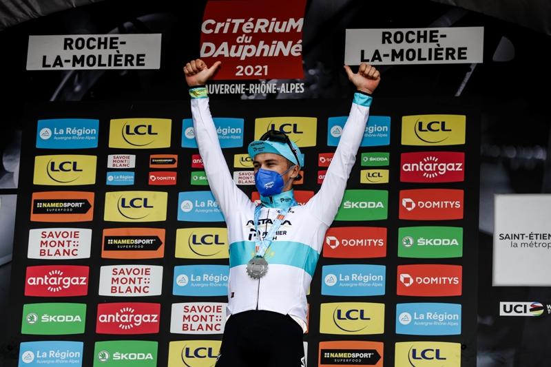 Двойной успех Алексея Луценко и Йона Исагирре на 4-м этапе Критериума Дофине-2021