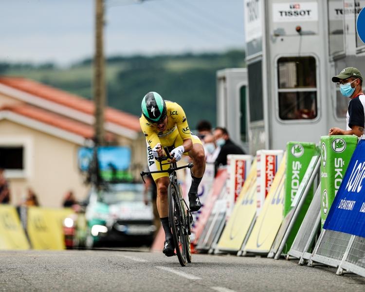 Лукас Пёстльбергер, Каспер Асгрен, Вилко Келдерман, Герант Томас о 4-м этапе Критериума Дофине-2021
