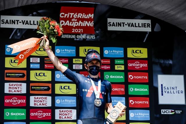Герант Томас – победитель 5 этапа Критериума Дофине-2021