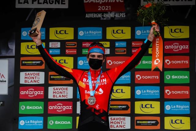 Марк Падун - победитель 7 этапа Критериума Дофине-2021