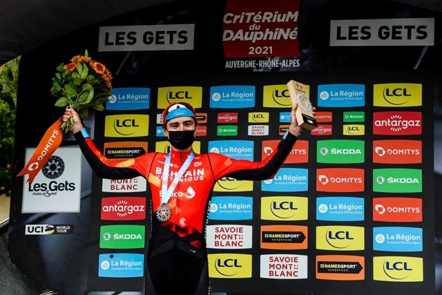 Марк Падун делает дубль и выигрывает гороховую майку на Критериуме Дофине-2021