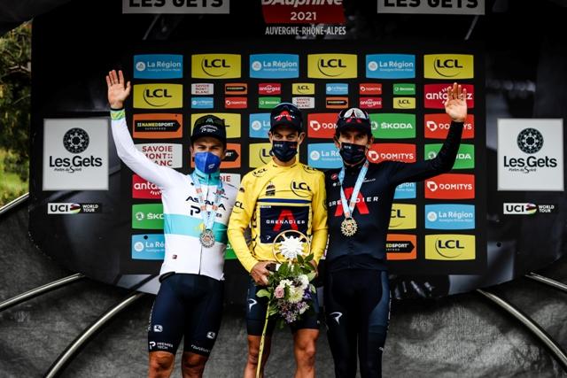 Ричи Порт - победитель Критериума Дофине-2021