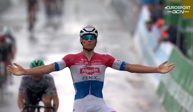 Матье ван дер Пул – победитель 2 этапа Тура Швейцарии-2021