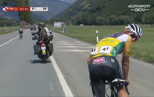 Матье ван дер Пул сошёл с Тура Швейцарии-2021 перед 6-м этапом