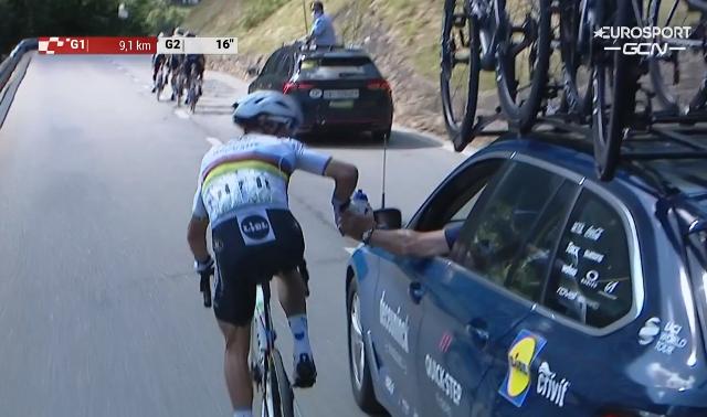 Жулиан Алафилипп оштрафован на 20 секунд на 5-м этапе Туре Швейцарии-2021