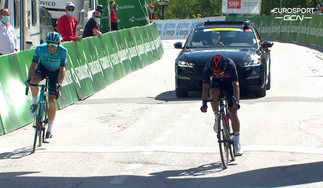 Ричард Карапас – победитель 5 этапа Тура Швейцарии-2021
