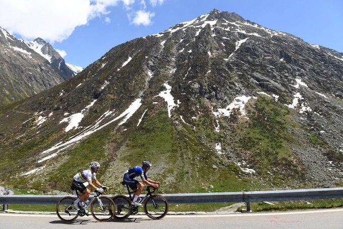 Жулиан Алафилипп и Ричард Карапас о 6-м этапе Тура Швейцарии-2021