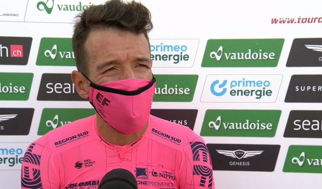 Ригоберто Уран - победитель 7 этапа Тура Швейцарии-2021