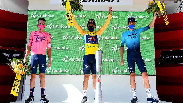Якоб Фульсанг – бронзовый призёр  Тура Швейцарии-2021